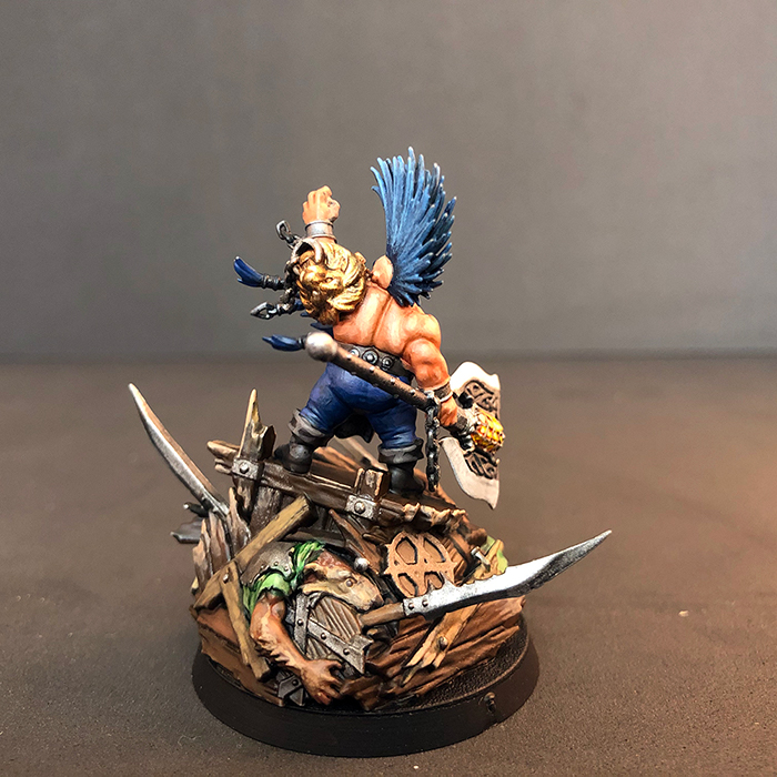 Photo of Gotrek Gurnnisson Miniature